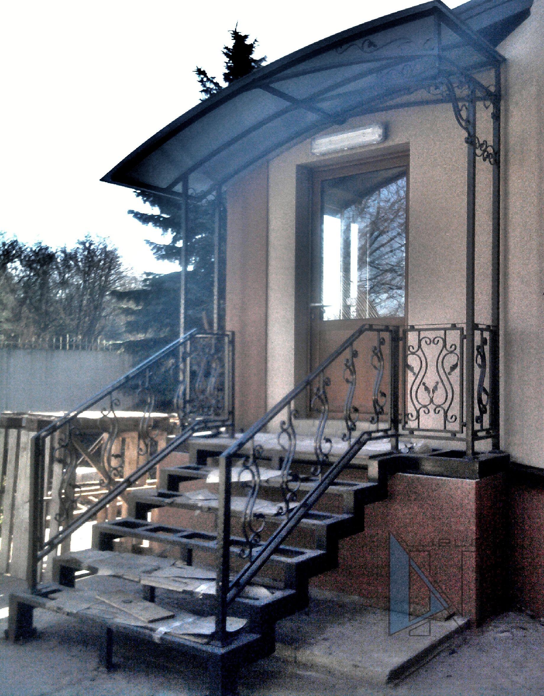 изготовление сварка навес лестница Донецк